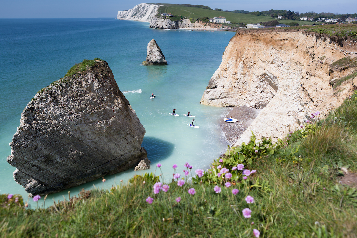 Freshwater Bay in Springtime, by Professional Isle of Wight Photographer Jason Swain