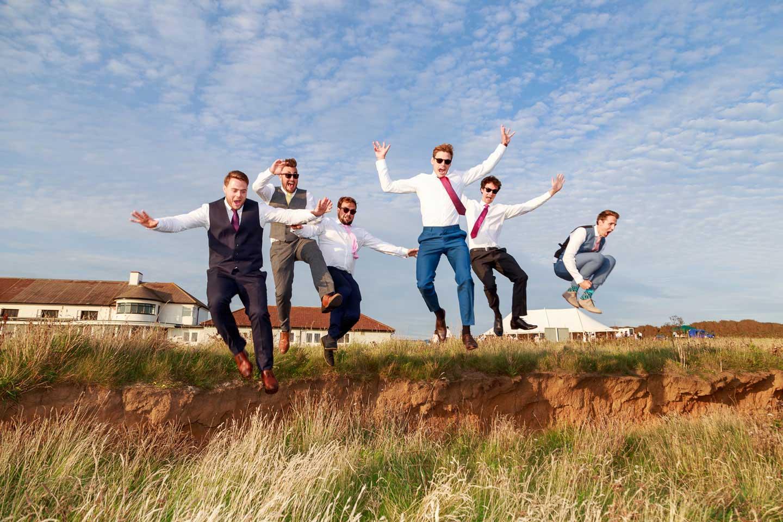 Fun Wedding Photography by Isle of Wight photographer Jason Swain